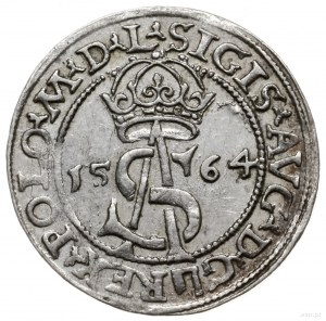 trojak 1564, Wilno; końcówki napisów L/L; Cesnulis-Ivan...