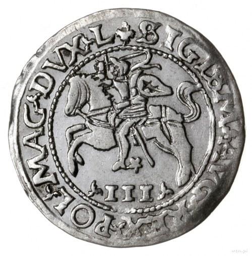 trojak szyderczy 1565, Wilno lub Tykocin; Aw: Pogoń w l...