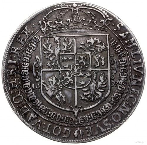 talar 1627, Bydgoszcz; Aw: Popiersie w prawo i napis wo...