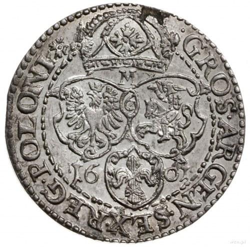 szóstak 1601, Malbork; Kop. 1251 (R3), Kurp. 1446 (R6),...
