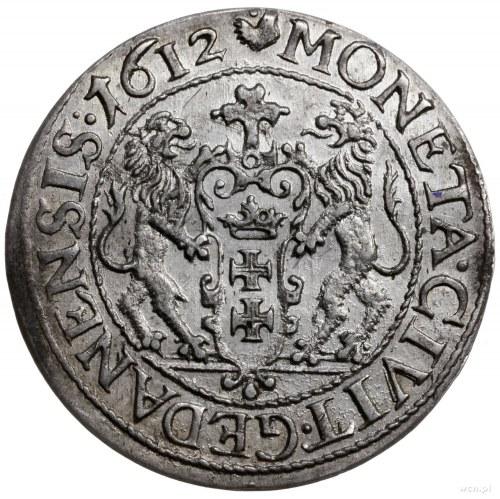 ort 1612, Gdańsk; kropka nad łapą niedźwiedzia, kulki p...