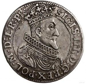 ort 1623, Gdańsk; bez 1-6 na awersie i z pełną datą w n...