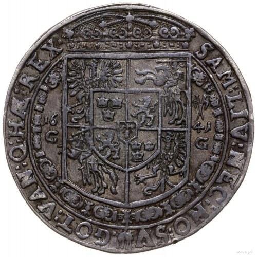 talar 1641, Bydgoszcz; Aw: Popiersie króla w prawo i na...
