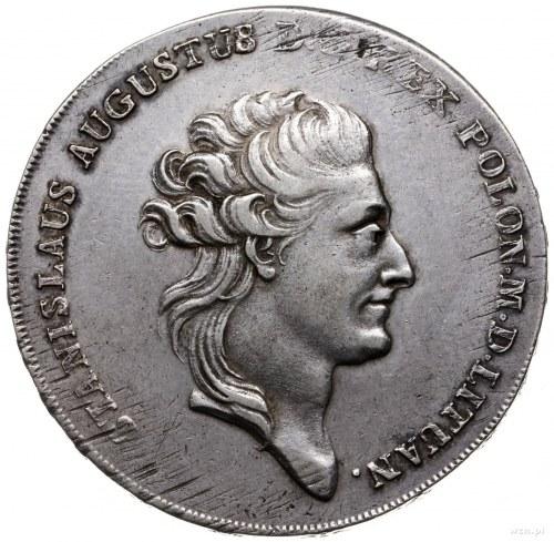 talar 1785, Warszawa; litery EB na rewersie; Berezowski...