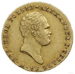 25 złotych 1818 IB, Warszawa; Aw: Głowa cara w prawo i ...