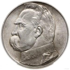 10 złotych 1939, Warszawa; Józef Piłsudski; Parchimowic...