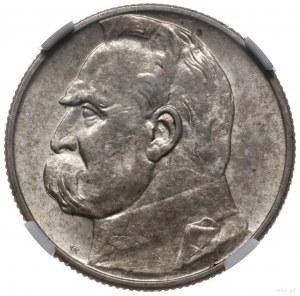 2 złote 1934, Warszawa; Józef Piłsudski; Parchimowicz 1...