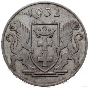 5 guldenów 1932, Berlin; żuraw portowy; AKS 10, CNG 522...