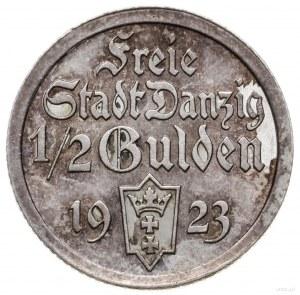 1/2 guldena 1923, Utrecht; koga; AKS 16, CNG 514.I, Jae...