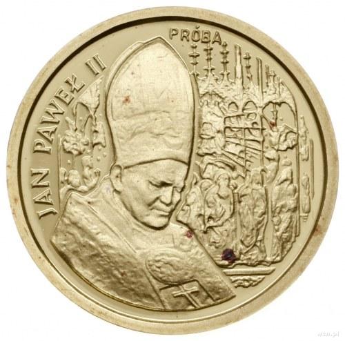 20.000 złotych, 1991, Warszawa; Jan Paweł II na tle ołt...