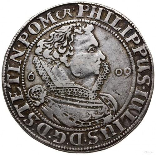 talar 1609, Nowopole (Franzburg); Aw: Popiersie w prawo...