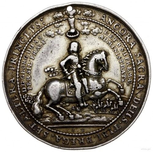 talar medalowy autorstwa J. Buchheima 1656, Brzeg; Aw: ...