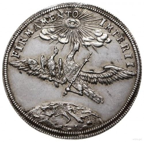 1/8 talara 1716, Nysa; wybita z okazji narodzin Leopold...