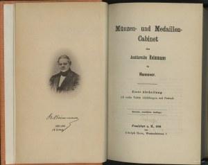 Adolph Hess, Münzen- und Medaillen- Cabinet des Justizr...