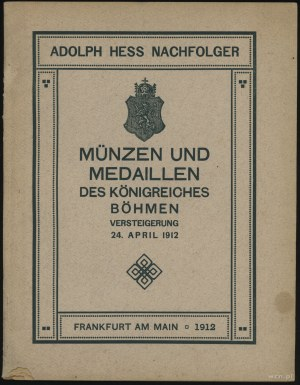 Adolph Hess Nachfolger, Auktions-katalog einer gewählte...