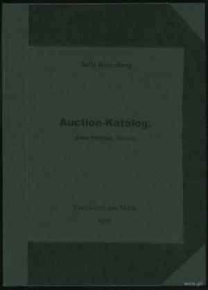 Sally Rosenberg, Auktions-Katalog 8 April 1907; 1. Samm...