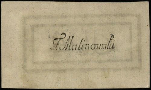 4 złote polskie 4.09.1794, seria 2-F; Lucow 44f (R0), M...