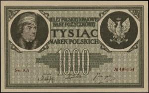 1.000 marek polskich 17.05.1919, seria AA, numeracja 49...