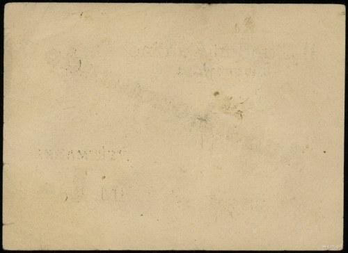 bon na 1 markę bez daty (1944), numeracja 65125, ze ste...