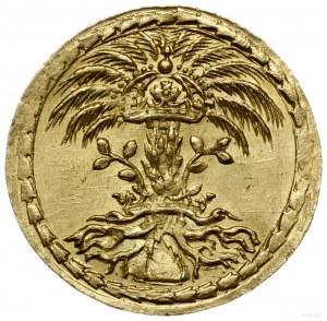 medal z 1625 r.; Aw: Monogram pary królewskiej SCA ( Si...