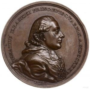 medal z 1780 r. autorstwa F. Holzhaeussera poświęcony I...
