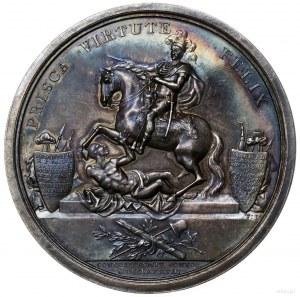 medal z 1789 r. autorstwa Friedricha Loosa, ofiarowany ...