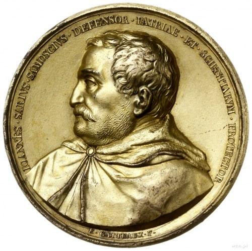 medal z 1822 r. autorstwa E. Gatteaux wybity na przenie...