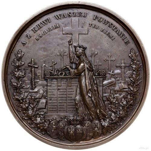 kopia medalu z 1861 r. autorstwa B. Podczaszyńskiego i ...