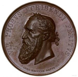 medal z 1879 r. autorstwa Fryderyka Wilhelma Below'a, w...