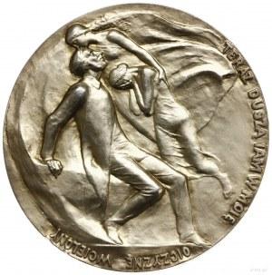 medal z 1898 roku autorstwa Wacława Szymanowskiego, wyk...