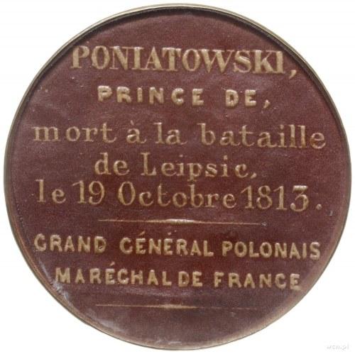 medal z XX w. nieznanego autorstwa, poświęcony ks. Józe...