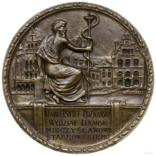 medal bez daty (ok. 1930 r.) autorstwa Jana Wysockiego ...