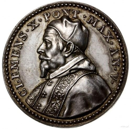 medal z 1674 r. (autorstwa Girolamo Lucentiego), wybity...