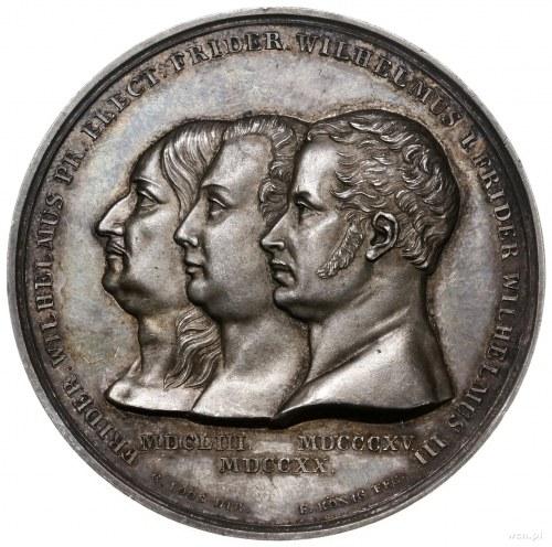 medal z 1815 r. autorstwa A. F. Königa, wybity z okazji...