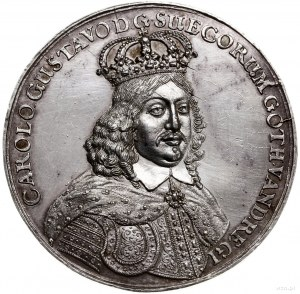 medal bez daty (ok. 1655 r.) autorstwa Jana Höhna (star...