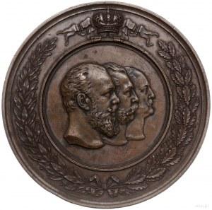 medal z 1892 r. autorstwa V. Nikonova (av) i A. Grilich...