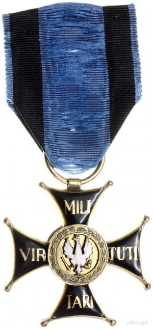 Krzyż Kawalerski Orderu Virtuti Militari (III klasy); n...