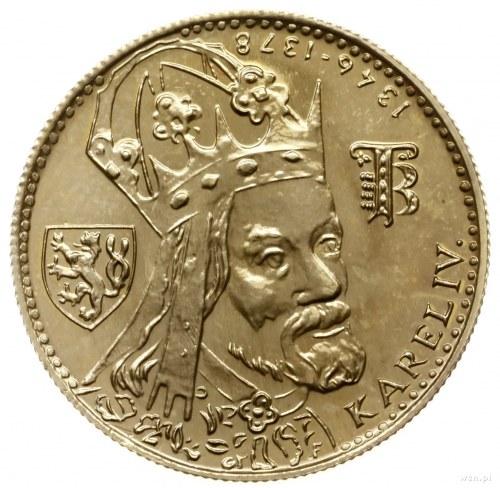 1 dukat z 1980 r, Krzemnica; na 600. rocznicę śmierci K...