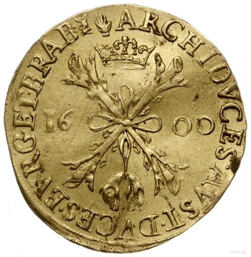 podwójny albertyn, 1600, Antwerpia; Fr. 86, Delmonte 14...