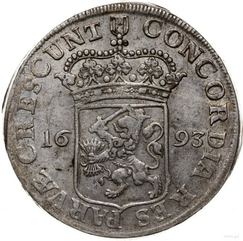 talar (silverdukat) 1693; Dav. 4898, Delmonte 969, Purm...