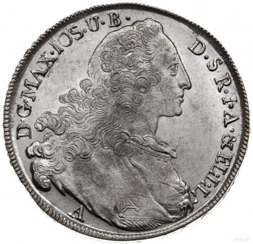 talar 1764 A, Amberg; Dav. 1954, Hahn 330; srebro 27.94...