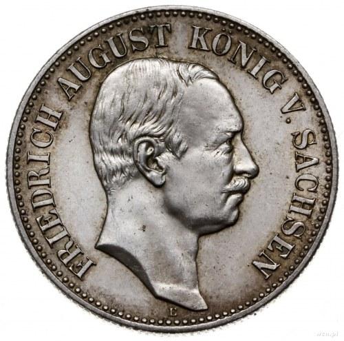moneta - medal wybity w 1905 r. na krążku dwumarkówki z...
