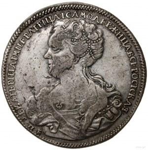 rubel 1725 СПБ, Petersburg; odmiana z literami СПБ z in...
