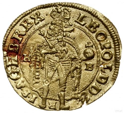 dukat 1691 KB, Krzemnica; Fr. 128, Herinek 357, Huszár ...