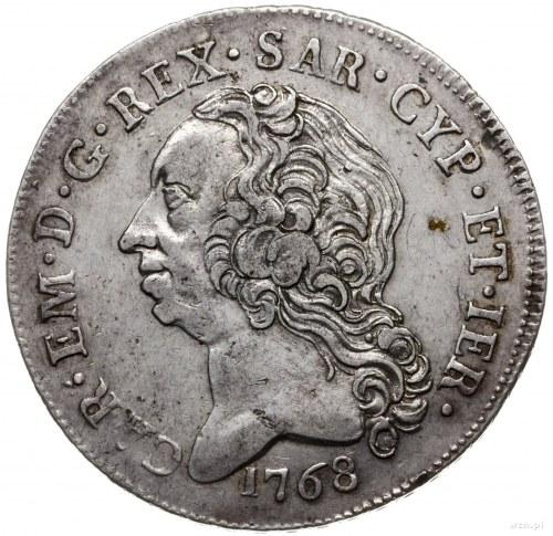 scudo 1768, Turyn; CNI/408/267, Dav. 1495, Monete Di Ca...
