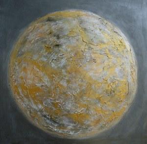Mariola Świgulska, Złoty glob, z cyklu Planety, 2017