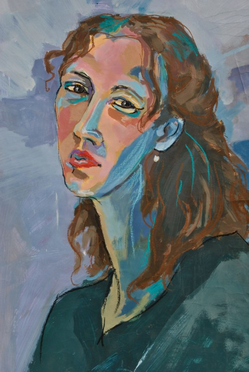 Małgorzata Korenkiewicz, Dziewczyna z niebieską szyją, 2000