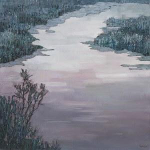 Olena Horhol, River, 2017