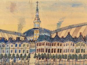 NIKIFOR KRYNICKI (1895-1968), Miasto