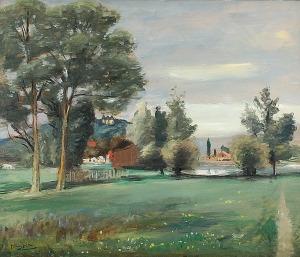 Henryk HAYDEN (1883-1970), Pejzaż z Francji